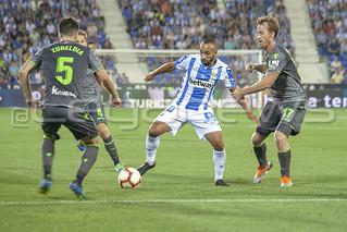C.D. Leganés 2-2 Real Sociedad. 24/08/2018