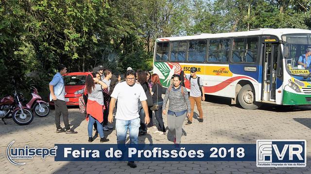 FERIA DAS PROFISSÕES 2018 - FVR