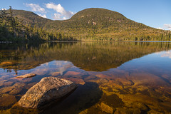 evening at lonesome lake