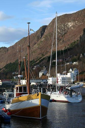 Båthamna i Ørskog