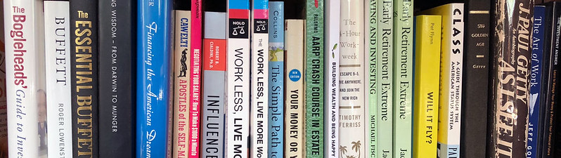 Shelf of Money Books