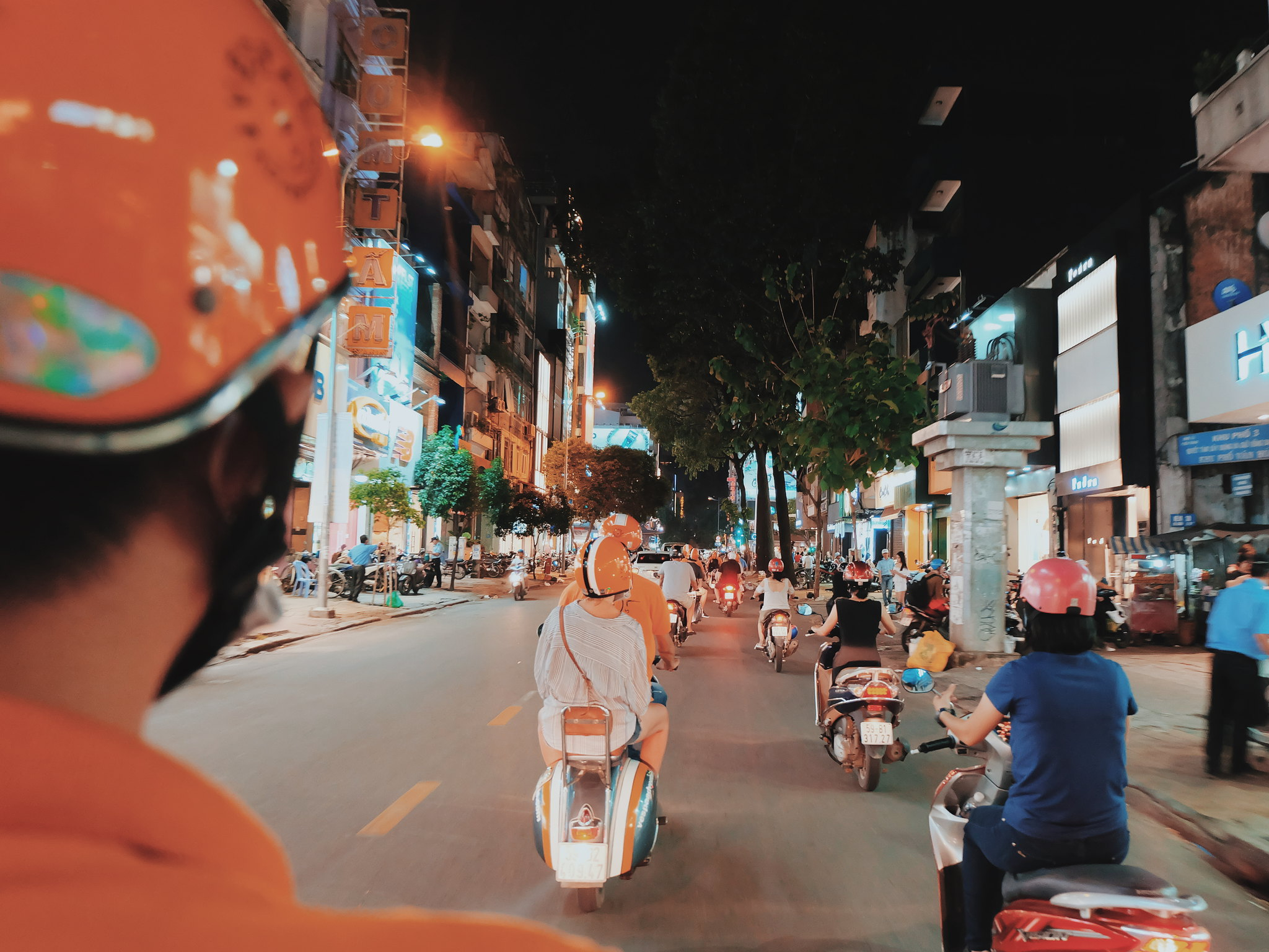 Saigon After Dark vespa tours saigon Ruth dela Cruz