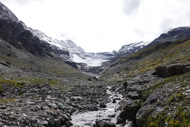 Remains of the glacier