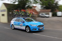 Canon EOS 60D - Tour of Britain 2018 - Wanty-Groupe Gobert  - Ford Mondeo Estate Team Car