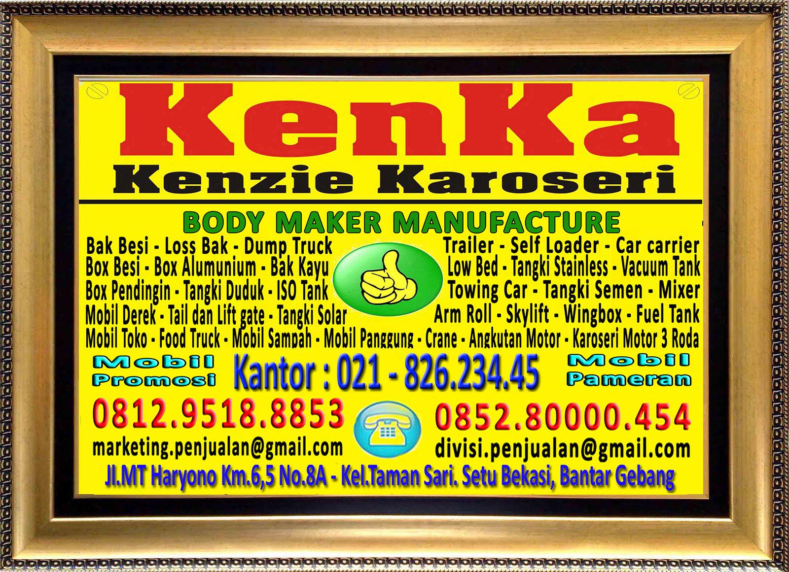 Karoseri Mobil & Truck KenKa - Kantor - Susi - Thamrin