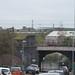 Vauxhall Road, Vauxhall - railway bridge on Northumberland Street