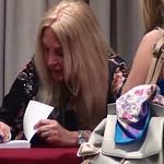 Crete HIR 2018-Vassula signing her Autobiography