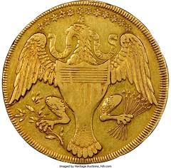 1792 Washington Gold Eagle Pattern reverse