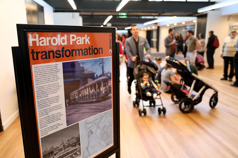 The Harold Park community hall was officially launched on Saturday 18 August.