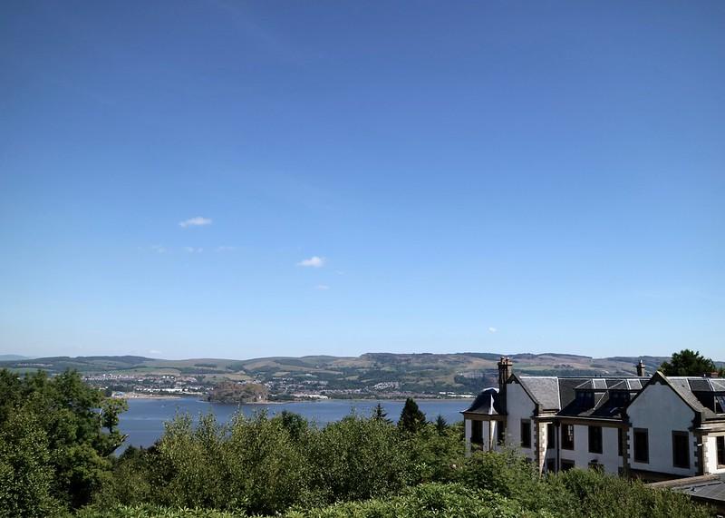 Gleddoch House View