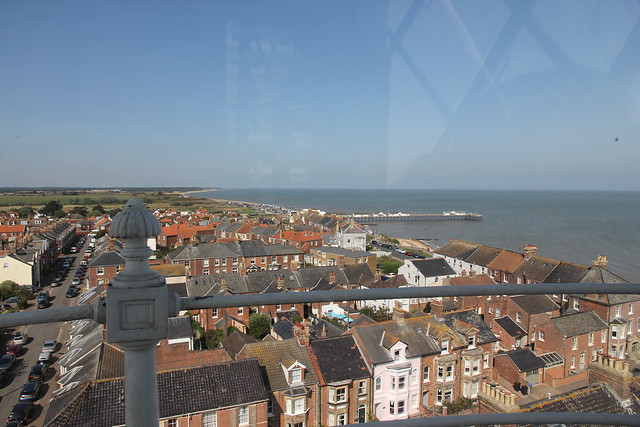View form Southwold lighthouse