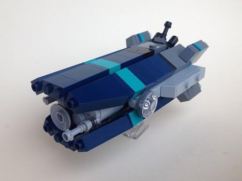 Velvetbelly-class Tech Corvette