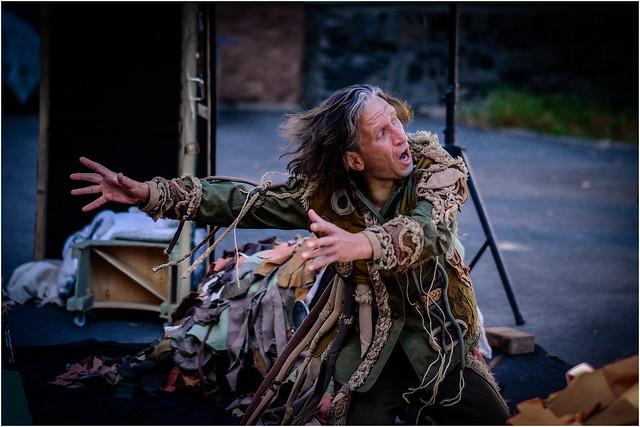 Ukraine. Chernihiv puppet theater. The play