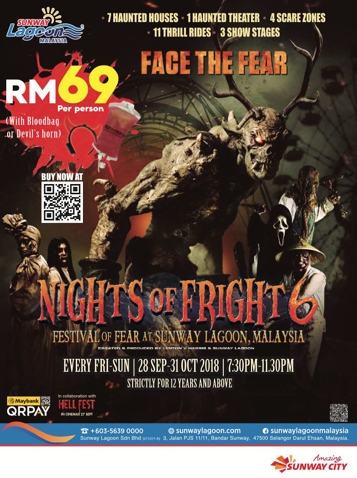 Sunway Lagoon's Night of Fright 6