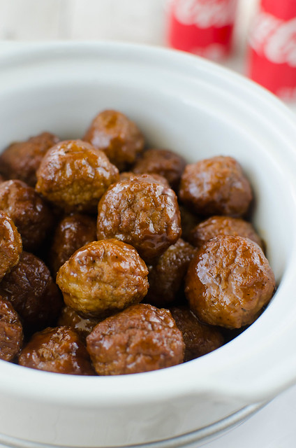 Slow Cooker Coca-Cola Meatballs