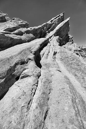 vasquez rock california landscape monochrome blackandwhite startrek