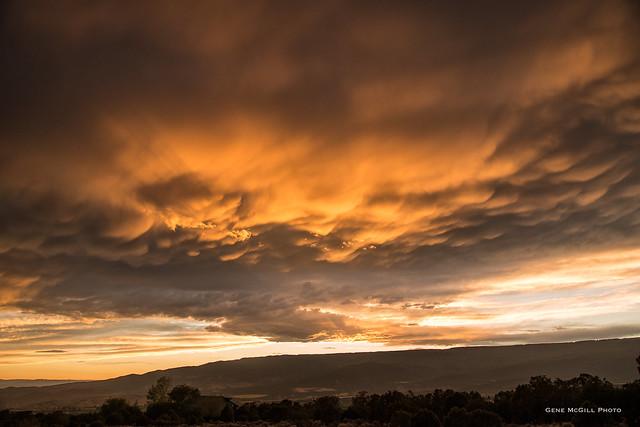 Cumulus Mammatus over Grand Mesa