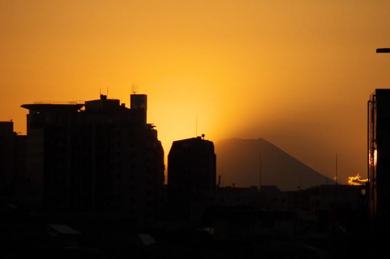 2013年1月撮影 富士見坂からの富士山