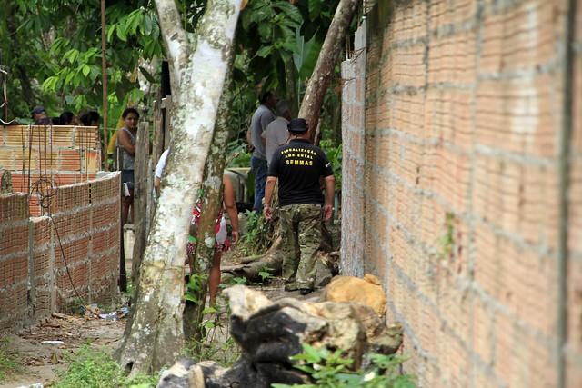 Prefeitura retira foco de invasão no Corredor Ecológico Urbano do Igarapé do Mindu