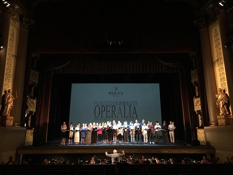 Final Concert of Operalia 2018 with Plácido Domingo, 2 September, Lisbon