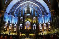 Notre-Dame Basilica (main altar), Montreal