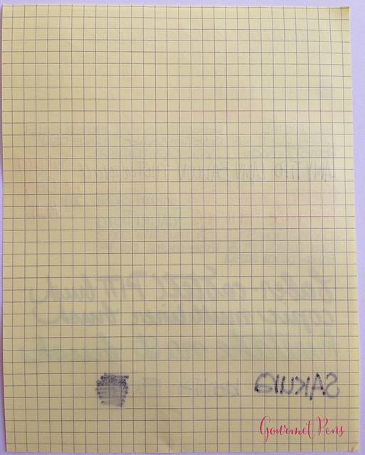 Rhodia No. 16 Yellow Notepad @exaclair @exaclairlimited 6