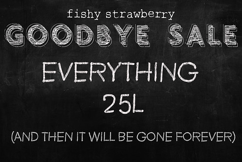 *Fishy Strawberry* Goodbye Sale