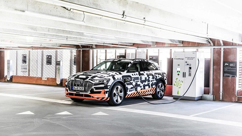 Audi launches its first All-Electric Series Production Model called the e-tron