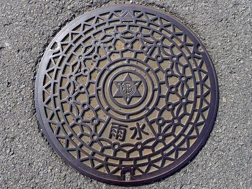 Wakayama city Wakayama pref, manhole cover 6 (和歌山県和歌山市のマンホール6)