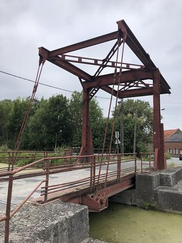 Canal Pommerœul-Antoing écluse N° 1