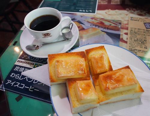 塚口・わらしべのチーズトースト