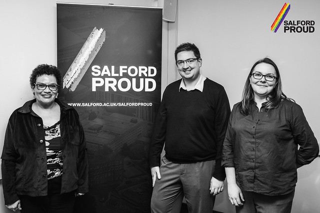 Salford Proud event with Jackie Kay