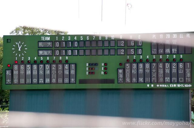 2018-0823_東海大北海道vs札幌大_271, Pentax K-5, Sigma 18-250mm F3.5-6.3 DC Macro HSM