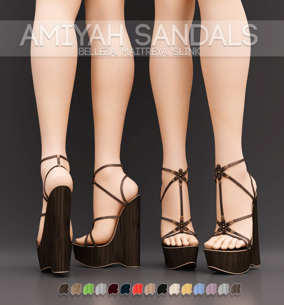 Pure Poison – Amiyah Sandals AD