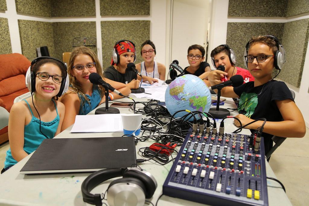 Taller radiofònic a Figaró - Montmany 31/08/18