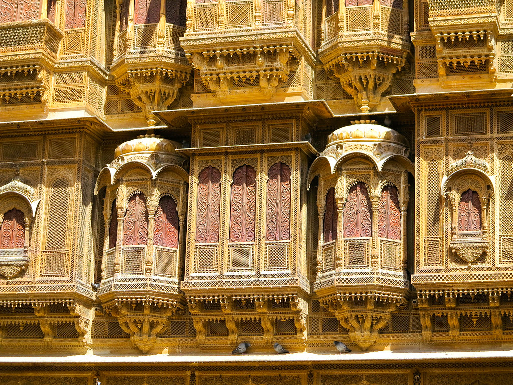 Havelis en Jaisalmer