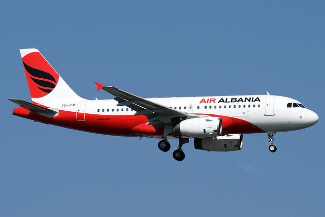 TC-JLR | Airbus A319-132 | Air Albania