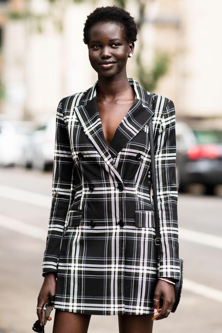 Стритстайл недели моды в Нью-Йорке