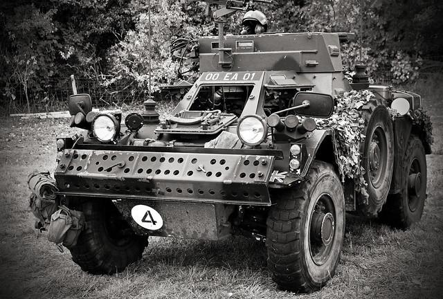 1958 Ferret Scout car..