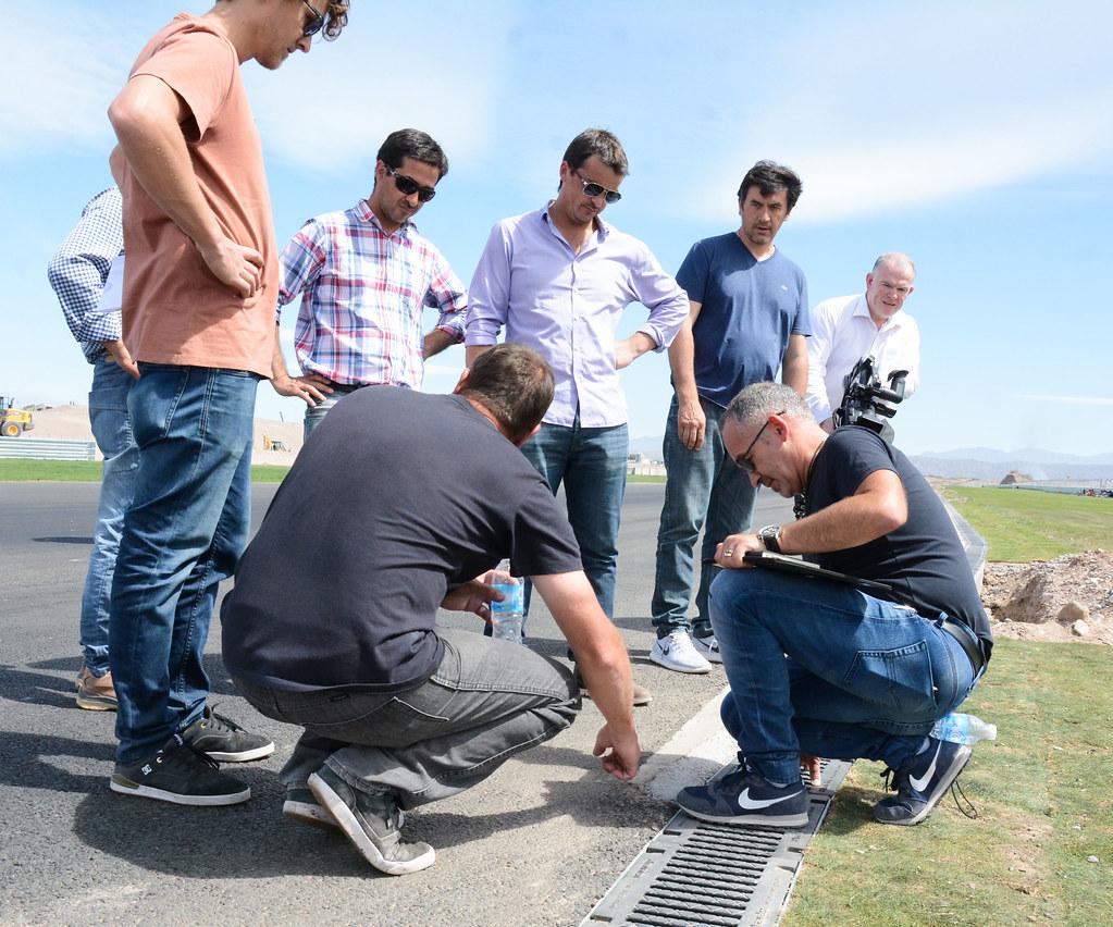 Circuito Villicum : Trabajan intensamente para concluir con las obras del circuito san