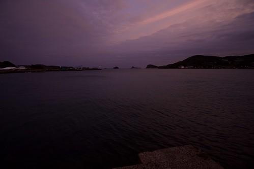 early morning in Yumoto bay