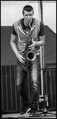 Derek Brown Beatbox Sax@53. Heineken Jazzaldia
