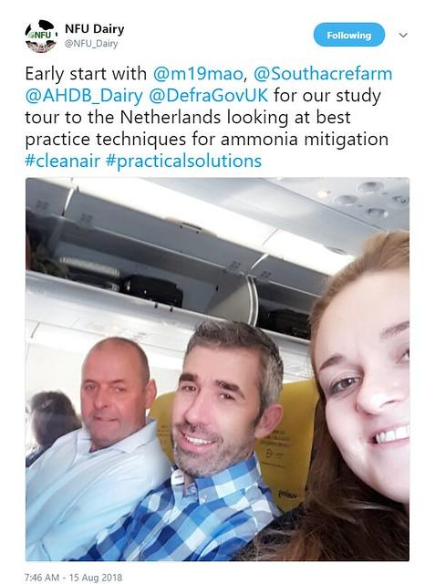 AHDB Dairy, NFU and Defra - Netherlands Exchange Visit
