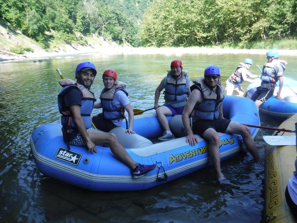 Rafting the Letchworth Gorge