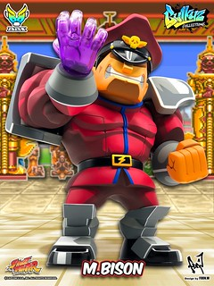 BigBoysToys Street Fighter Bulkyz Collection Action Figure M.Bison