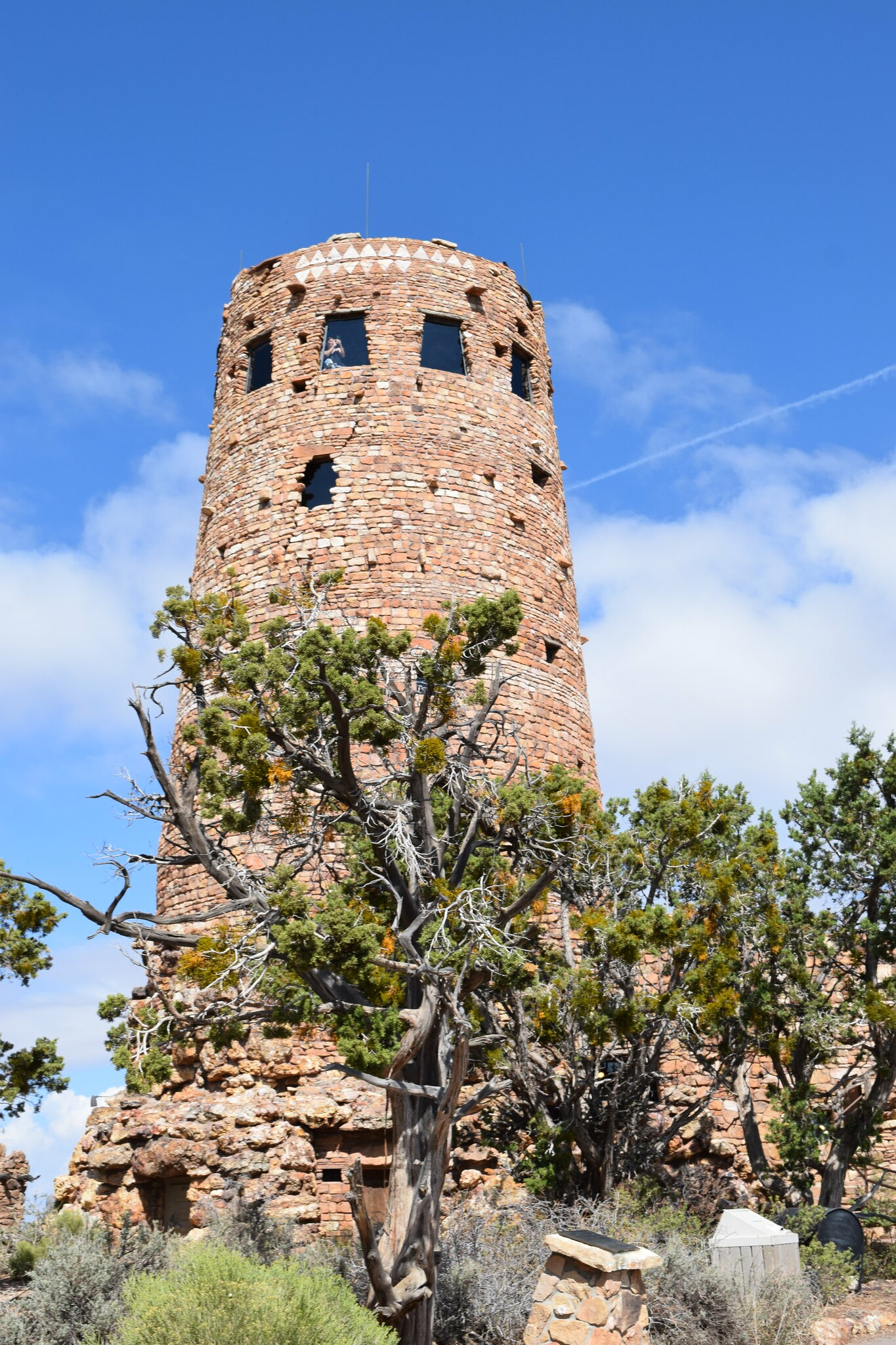 The Watch Tower at Desert View