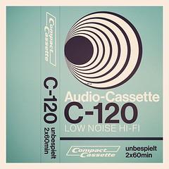 Cassettes: Unbespielt C120