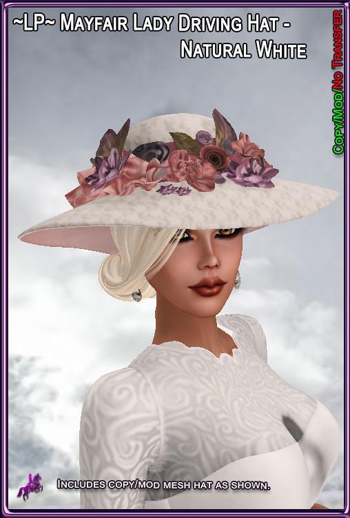 LP-MayfairLadyDrivingHat-NaturalWhite