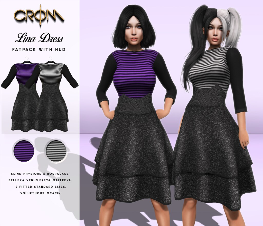 -CroM- Lina Dresses = 10 L – Cart Sale