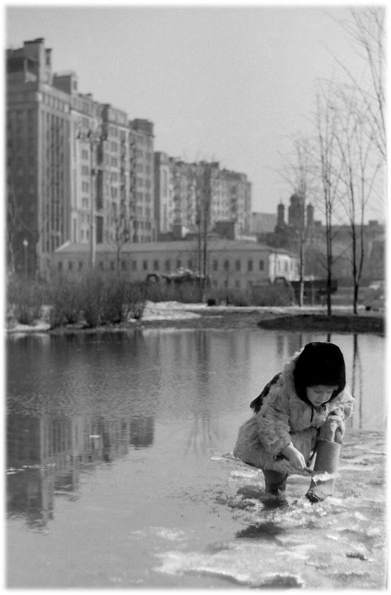 1961. Весна во дворе